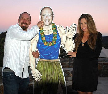 Customer Photo - Luau Cutout