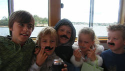 Fake mustaches for all!