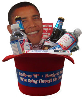 "Toodle-oo ""W"" and Howdy-do Obama Party Giveaway!"