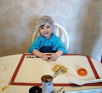 Making Yummy Hamantashen for Purim