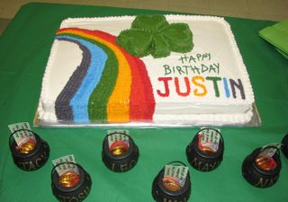 St Pat's Birthday Cake