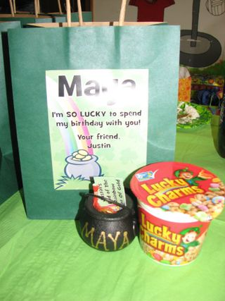 St Patrick's Day Goodie Bags