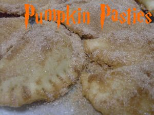 Pumpkin Pasties, made by Kathleen
