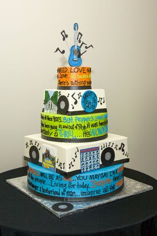 Awesome Rock N Roll Cake