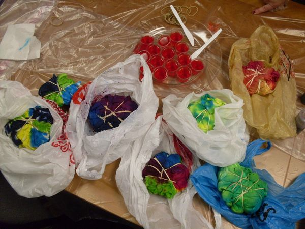 Woodstock Party Activities And Favors Tie Dye T Shirts