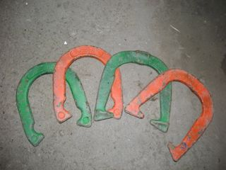 Neon Horseshoes