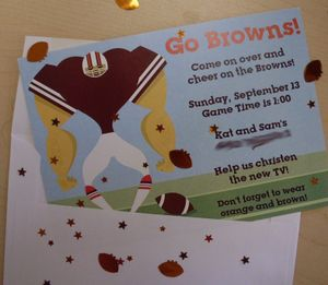 NFL Team Invite