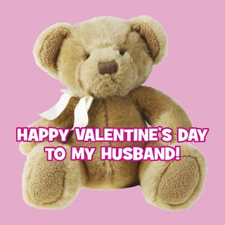 Valentine Teddy Bear, This is not the actual card. It existed for a long time and has recently gone missing. Interesting. But you get the idea.
