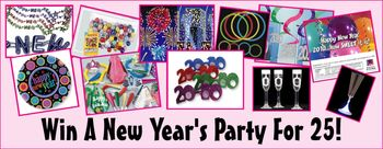 New Year's Eve Party Giveaway