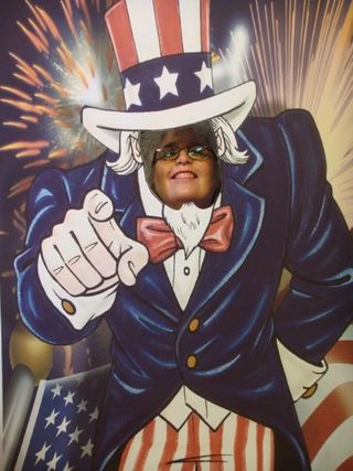 Sherri being awesome and a true American