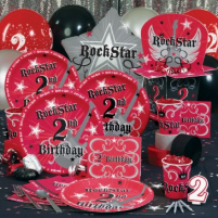 Rock-star Party Goods. Party like a rock star