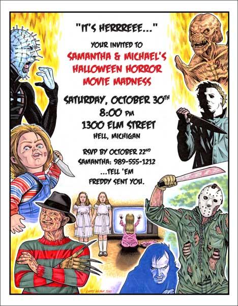 Party Talk Halloween Invitation Wording Ideas – Halloween Birthday Invite Wording