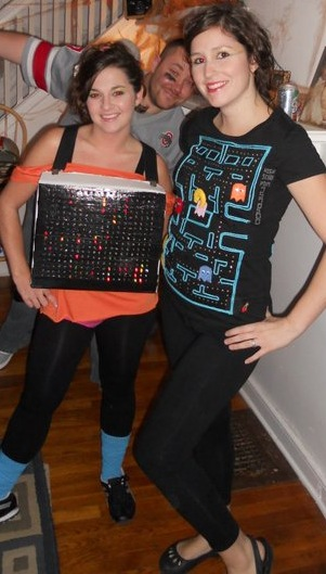 Lite Bright and Pac Man Do it Yourself Halloween Costumes