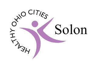 Healthy Ohio Cities Solon logo which looks awesome