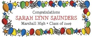 Graduation Banner. Very colorful and fantastic