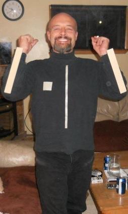 Pong DIY Halloween Costume