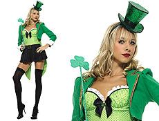 St pat costume leprechaun