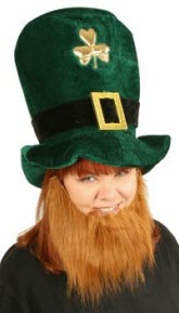Leprechaun Beard St Pats Costume Accessory