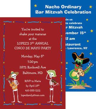 Personalized fiesta Invitations