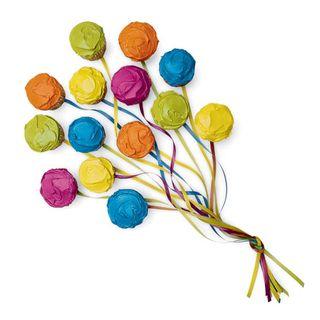 Graduation desert Ballon cupcakes