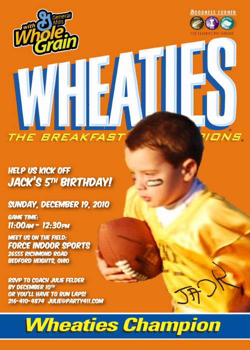Kids Birthday Party Ideas Sports Themed Daily Party Dish – Sports Themed Birthday Invitations