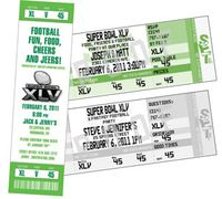 New 2011 Super Bowl Ticket Invitations
