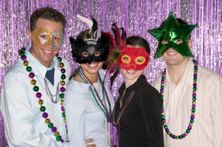 Mardi Gras Maquerade Ball