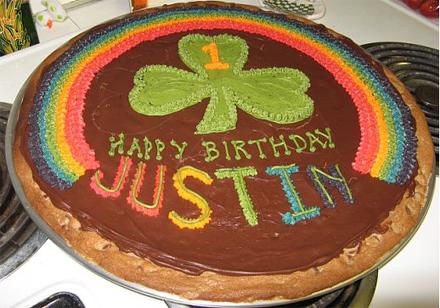 1st birthday st. pattys day birthday cake