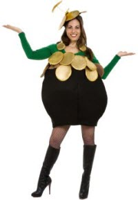 Pot o gold st pats costume