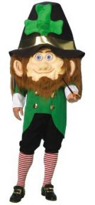 Parade leprechaun costume