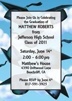 2011 Graduation invitation