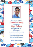 Open House Graduation Oarty Invite