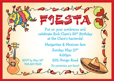 Cinco de mayo invite