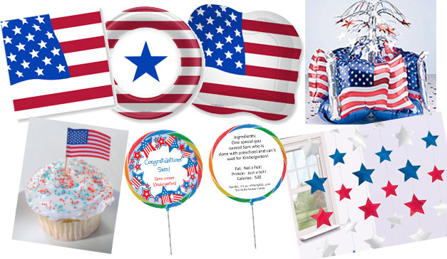 Patriotic Preschool Graduation Supplies