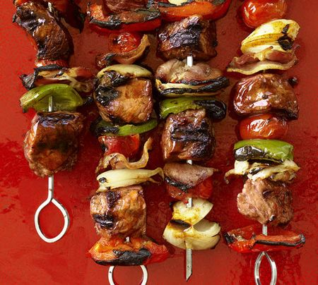 Delicious kebabs great for your memorial day cookout