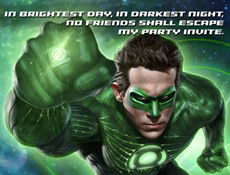 Green Lantern Invite