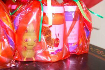 Very Hungary Catepillar Favor Bags