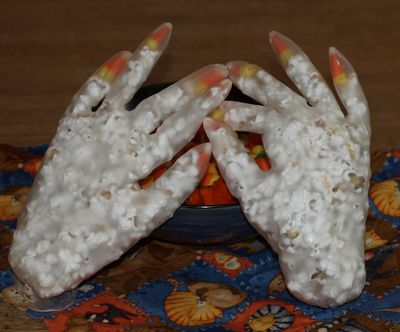 Kids Halloween Party Ideas Skeleton Hands Daily Dish
