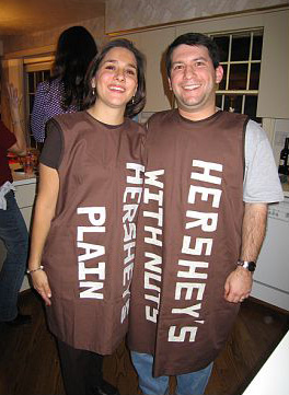 Hersheys Halloween Couples Costumes  sc 1 st  Daily Party Dish & Fun DIY Couples Costume Ideas - Daily Party Dish