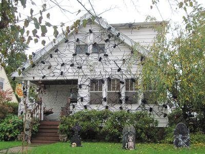 Halloween Outdoor Spider web decoration
