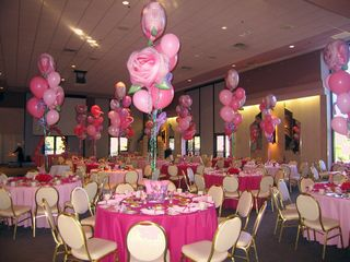 Pink Theme Party Linens