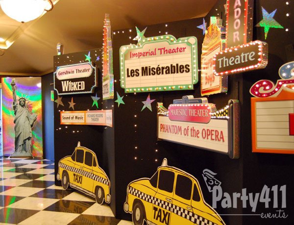 New York City Theme Bat Mitzvah Party - Daily Party Dish