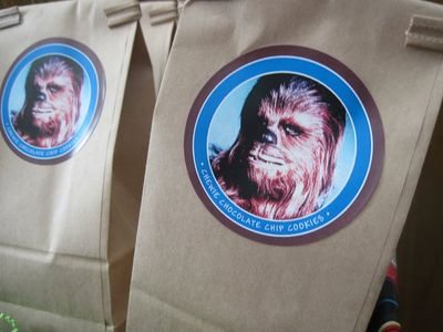 Star Wars Favor Bags