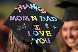 Graduation cap decoration ideas daily party dish 2 will work for still looking for a job add a simple resume statement publicscrutiny Choice Image