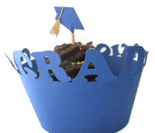 Graduation Party Ideas Cupcake Wrappers