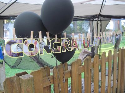 Congratulations Banner for Graduation Party
