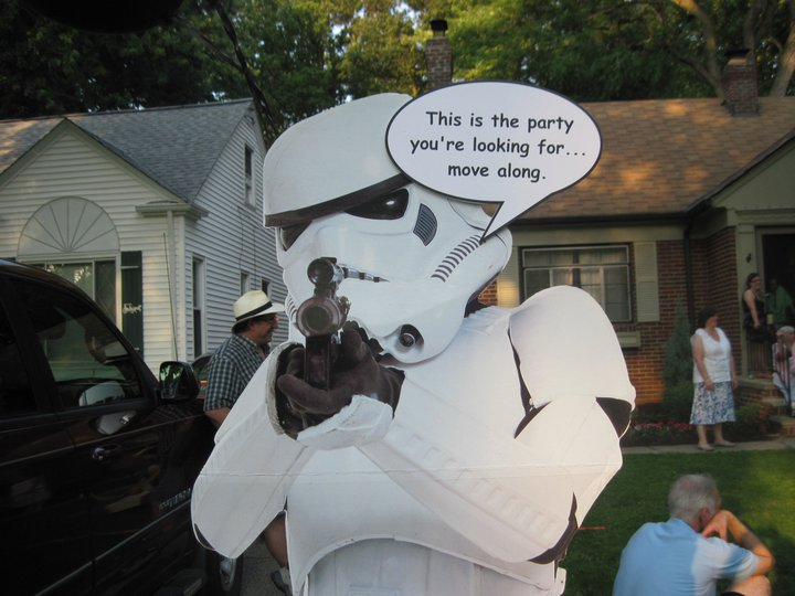 star wars theme graduation party daily party dish