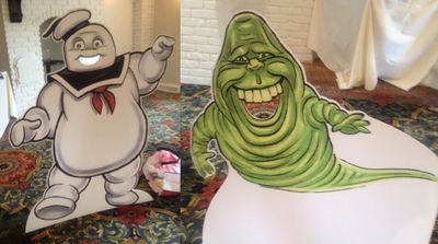 Ghostbuster Party Game Cutouts