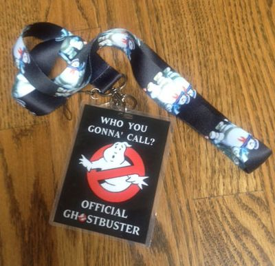 Ghostbuster Party badge