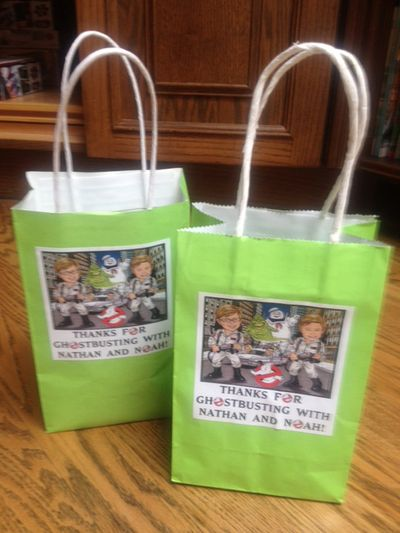 Ghostbuster Party Favor Bags